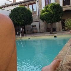 Photo taken at Puerta De La Luna Hotel Baeza by Francisco G. on 7/31/2013