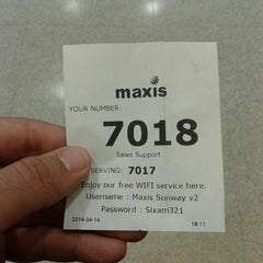 Photo taken at Maxis Centre by Izat 💣 on 4/14/2014