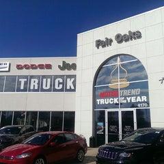 Photo taken at Fair Oaks Chrysler Jeep Dodge by Bobby (DJ Oso Fresh) A. on 9/13/2013