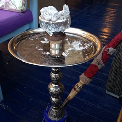 Photo taken at Sisha Cafe by Gaye O. on 6/22/2014