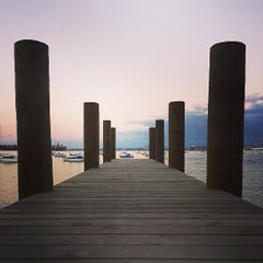 Photo taken at Northcote Point by Eron S. on 7/30/2013
