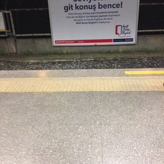 Photo taken at Yenibosna Metro İstasyonu by ayşegül a. on 2/20/2014