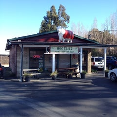 Photo taken at Angelo's Wine Country Meat & Deli by Kristin P. on 1/20/2014