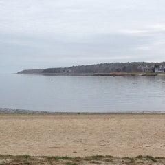 Photo taken at Barlow's landing beach by Elaina R. on 4/17/2013