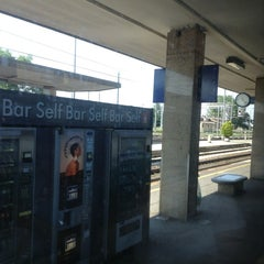 Photo taken at Stazione Ferrara by Momik V. on 6/14/2013