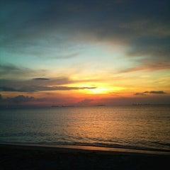 Photo taken at Playa Muerta by Alvaro Omar M. on 10/28/2012