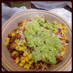 Photo taken at Qdoba Mexican Grill by Camille S. on 11/20/2014
