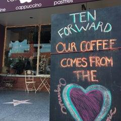 Photo taken at Cafe Ten Forward by Jack C. on 12/28/2012