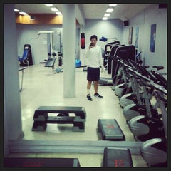 Photo taken at Gimnasio Canal 13 by Felipe L. on 9/6/2013