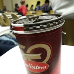 Photo taken at Tim Hortons by Majed A. Alkhalid on 1/22/2014