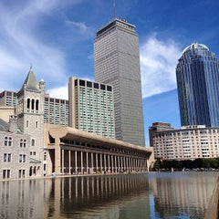 Photo taken at Christian Science Plaza by BostonTweet on 9/15/2013