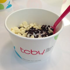 Photo taken at TCBY by Jennifer O. on 7/13/2013