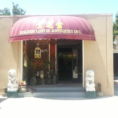 Photo taken at Golden Lotus Antiques by George S. on 7/4/2014