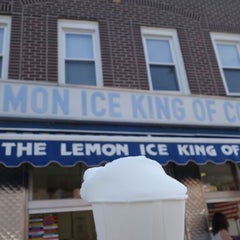 Photo taken at The Lemon Ice King of Corona by Jason L. on 7/18/2014