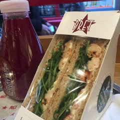 Photo taken at Pret A Manger by Talal A. on 1/16/2015