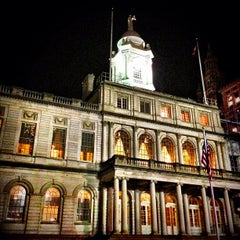 Photo taken at New York City Hall by Carlos on 11/29/2012