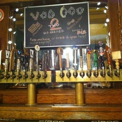 Photo taken at Rogue Ales Public House by Sergio M. on 11/19/2012