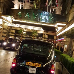 Photo taken at Savoy Place by John G. on 10/17/2015