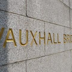 Photo taken at Vauxhall Bridge by John G. on 7/30/2013