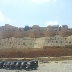 Photo taken at Jaisalmer Fort by Priyanka B. on 6/16/2013