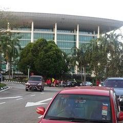 Photo taken at Sports Arena Pusat Sains Negara by ARe-BeaR on 2/21/2014