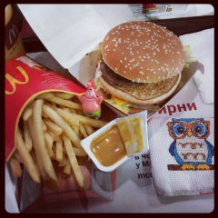Photo taken at McDonald's by Ника Г. on 6/15/2013