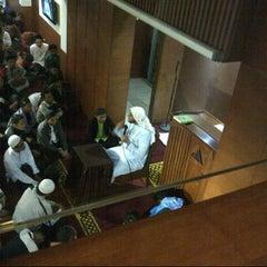 Photo taken at Masjid Daarut Tauhiid by Inna M. on 2/13/2014