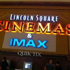 Photo taken at Lincoln Square Cinemas by Destiny T. on 6/18/2013