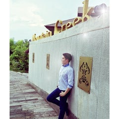 Photo taken at Mountain Creek Wellness Resort Chiangmai by Ibuddy Push S. on 5/17/2014