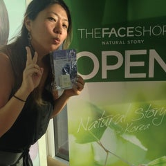 Photo taken at The Face Shop by Malia H. on 10/22/2013