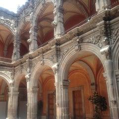 Photo taken at Museo de Arte de Queretaro by Scarlett P. on 6/23/2013