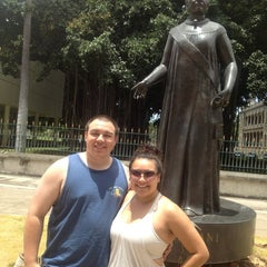 Photo taken at Queen Liliʻuokalani Statue by Kimberly R. on 7/26/2013