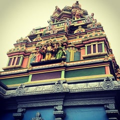 Photo taken at Temple tamoul by Cyrielle C. on 1/1/2014
