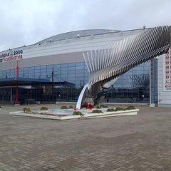 Photo taken at Арена 2000 Локомотив / Arena 2000 Lokomotiv by Daria D. on 10/16/2013