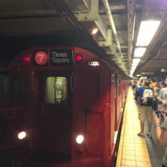 Photo taken at MTA Subway - 7 Train by Ed V. on 7/14/2013