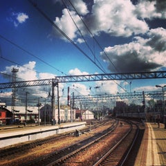 Photo taken at Курский вокзал / Kursky Rail Terminal by Konstantin K. on 8/17/2013