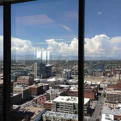 Photo taken at Xcel Larimer Building by Alexanndrea D. on 8/28/2013
