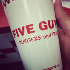 Photo taken at Five Guys by DJ F. on 7/19/2014