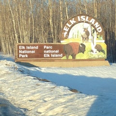 Photo taken at Elk Island National Park by fernando d. on 1/17/2014
