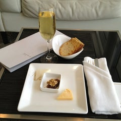 Photo taken at Etihad First Class Lounge by Steve L. on 6/24/2013
