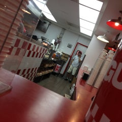Photo taken at Five Guys by George L P. on 4/12/2013