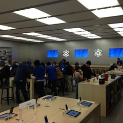 Photo taken at Apple Store, Towson Town Center by George L P. on 3/2/2013