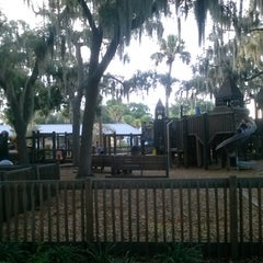 Photo taken at Wooten Park by Natalie L. on 9/14/2014