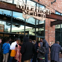 Photo taken at Mile High Station by Cyn on 12/9/2012