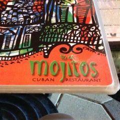 Photo taken at Mojitos Cuban Restaurant by Joel E. on 6/28/2013