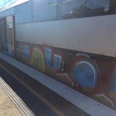 Photo taken at Strathfield Station (Platforms 7 & 8) by John A. on 7/6/2014