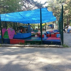"Photo taken at Детский Парк ""Клетка"" by Любаня on 7/5/2013"