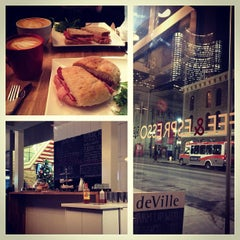 Photo taken at deVille Luxury Coffee & Pastries by Paolo R. on 12/15/2012