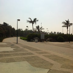 Photo taken at Al Mamzar Park (حديقة الممزر) by Jovian A. on 10/12/2012