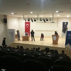 Photo taken at Çankırı Gençlik Hizmetleri ve Spor İl Müdürlüğü by Bilal A. on 3/20/2015